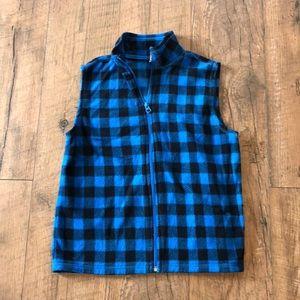 Old navy zip up fleece vest